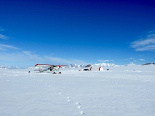 The Helio Carrier on top of the St. Elias icefields