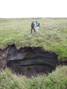 A hole in the permafrost