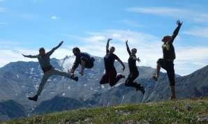 Jumping photo!
