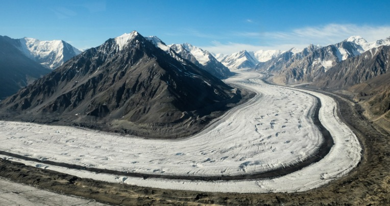 The Kaskawulsh Glacier