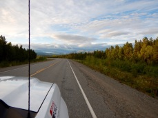 On our way to Kluane along the Alaska Highway