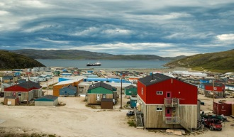 The picturesque village of Salluit