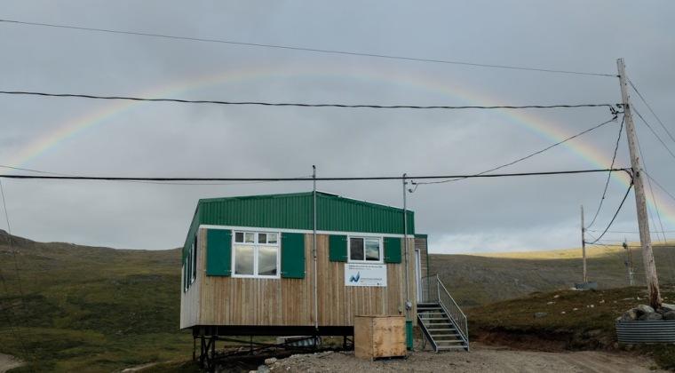 Our lovely little house beneath the rainbow