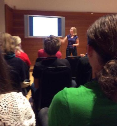 Anne presenting tundra trait biogeography
