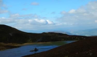 A blue, blue view