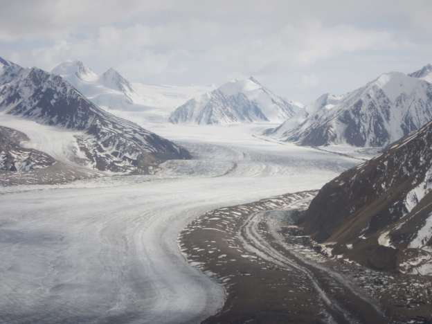 The Kaskawulsh Glacier.