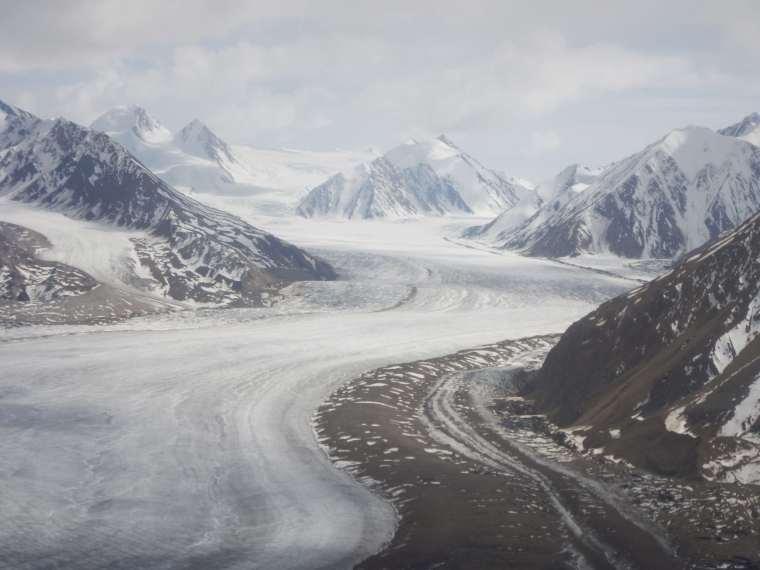 The Kaskawulsh Glacier.
