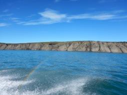 The northwest coast of the island.