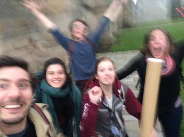 The jumping selfie, our new favourite type of photo, when you don't have someone else there to take your jumping photo!