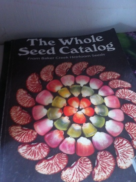 Interesting to see this heirloom seed catalog in Inuvik - I used to order some of my seeds from the same company back when I was gardening in Bulgaria.