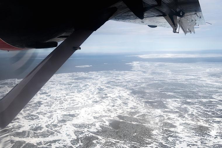 Sea ice getting closer