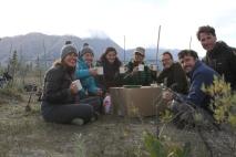 A common garden tea party!