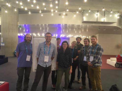 The grabr hackathon team