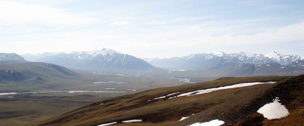 The North Slope of Alaska and the Brooks Range Mountains