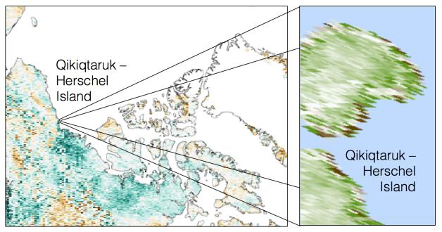 Greening Arctic