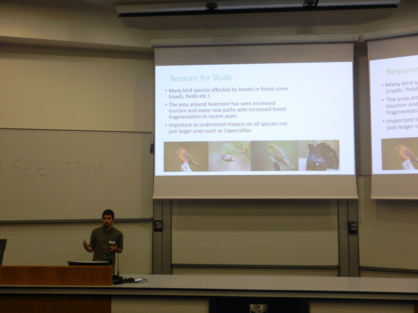 Conference adventures – the Scottish Ecology, Environment