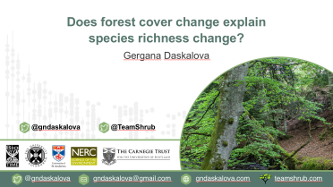 All around the world, forests are lost, forests are gained - what does that mean for biodiversity?