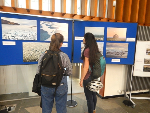 Exploring the exhibition