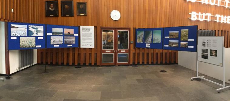 The Team Shrub Arctic Above Exhibition all set!