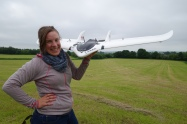Isla and the fixed wing