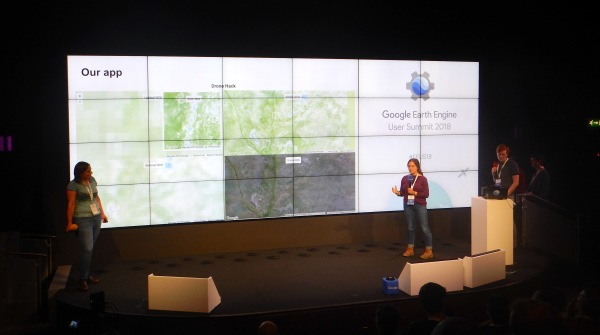 Team Shrub goes to the Google Earth Engine Users Summit