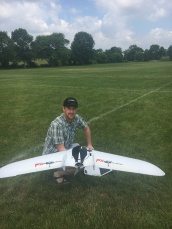 Jeff preparing the Malruk FX-61 for its first flight in the United States